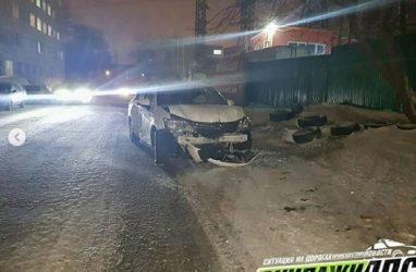 Сразу пять машин попали в массовое ДТП во Владивостоке