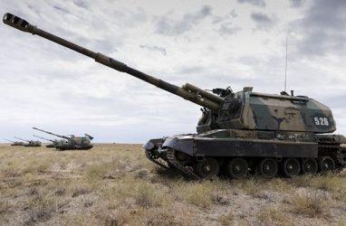 В Приморье мотострелки учились ведению высокомобильного современного боя