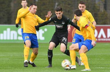Футболисты «Луча» сыграли второй матч подряд вничью