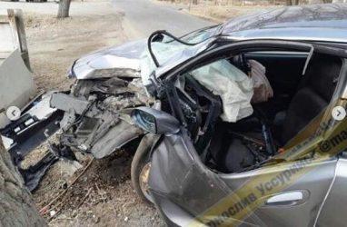 Девушка получила тяжёлые травмы в страшном ДТП в Приморье