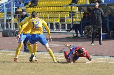 Футболисты «Луча» сыграли вничью с «Мордовией»