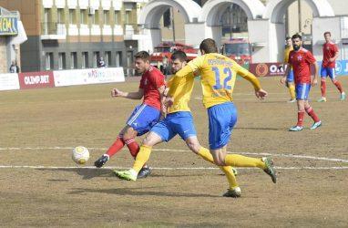 Футболисты «Луча» сыграли вничью с «Авангардом»