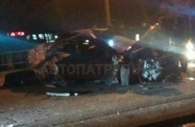 Жуткое ДТП: в Приморье водителя выбросило из машины