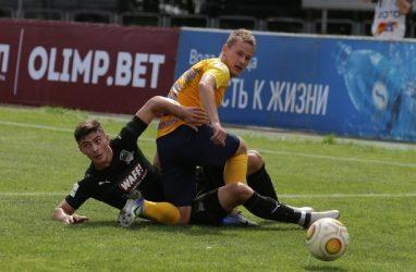 Футболисты «Луча» проиграли в Краснодаре