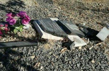 В Приморье вандалы напали на могилу ветерана Великой Отечественной войны