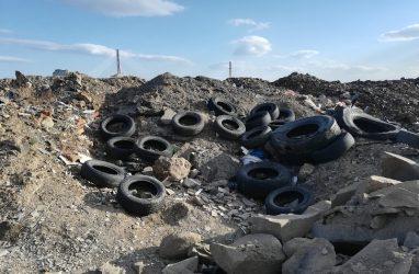 Общественники вновь призвали избавить дворы Владивостока от покрышек