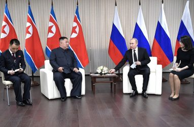Лидер КНДР рассказал, зачем приехал во Владивосток