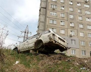 """Город победившего автомобилиста"""