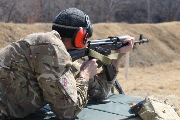 Бойцы отряда «Гром», стрельба, фото: пресс-служба УМВД России Приморскому краю