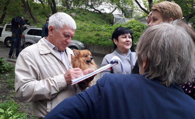 Сбор подписей под обращением к главе Владивостока