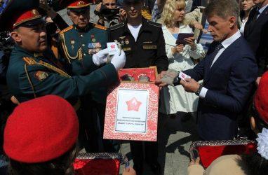 Владивосток и Уссурийск присоединились ко всероссийской акции «Горсть памяти»
