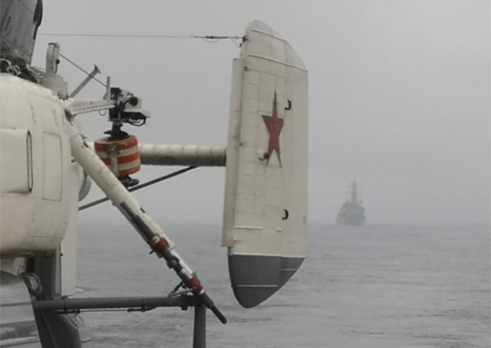 ТОФ, Японское море, корабль
