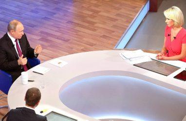 «Китовая тюрьма» в Приморье: что говорили о ней на «Прямой линии» с президентом России