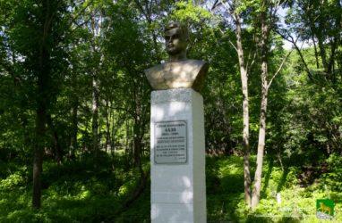 Бюст Сергея Лазо из заброшенной воинской части на острове Русский отреставрируют и установят в селе Лазо