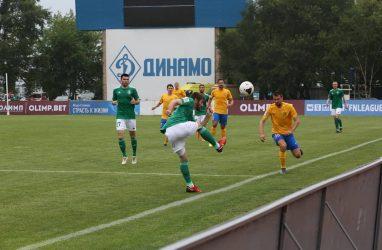 Футболисты «Луча» сыграли вничью с «Томью»