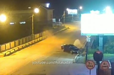 Серьёзное ДТП во Владивостоке попало на видео