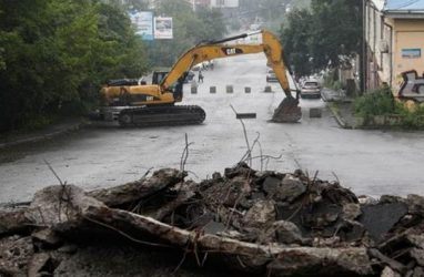 Долгожданный ремонт знаменитой дороги стартовал во Владивостоке