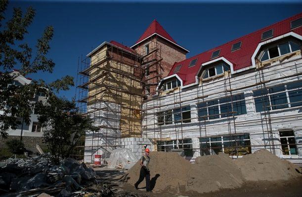 Здание на Аксаковской
