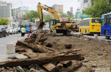 Власти Владивостока продали демонтированные трамвайные пути с аукциона