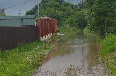 Ещё две реки могут выйти из берегов в Приморье