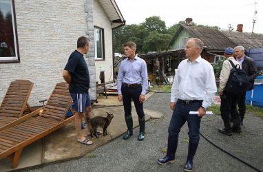 Как минимум 80 домов и огородов подтопило в пригороде Владивостока