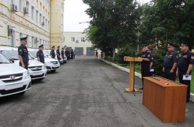 Новыми машинами пополнился автопарк ГУФСИН по Приморскому краю