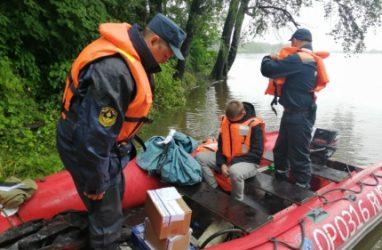 Опасное гидрологическое явление: реки Приморья вышли из берегов