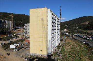 На достройку одного из домов в Снеговой Пади Владивостока выделили 360 млн рублей