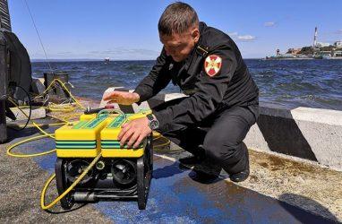 Команда Росгвардии отличилась на соревнованиях по управлению подводными роботами во Владивостоке