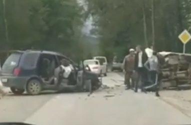 Шокирующее ДТП в Приморье: водитель зажат в искорёженном салоне — очевидцы