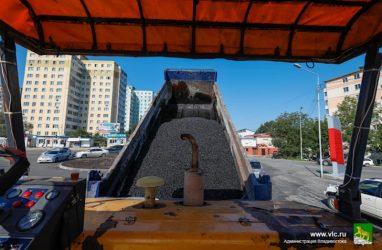 Во Владивостоке после ливней возобновились дорожные работы