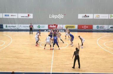 Баскетболисты «Спартака-Приморье» стартовали на турнире в Латвии