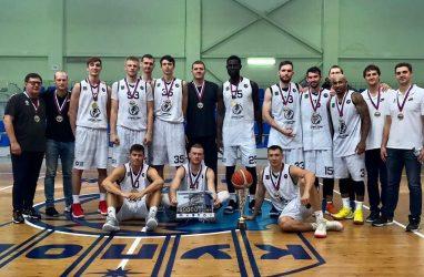Баскетболисты «Спартака-Приморье» выиграли предсезонный турнир