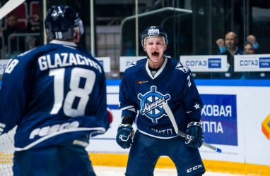 Хоккеисты «Адмирала» обыграли «Спартак» в Москве