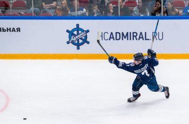 Хоккеисты «Адмирала» победили «Барыс»