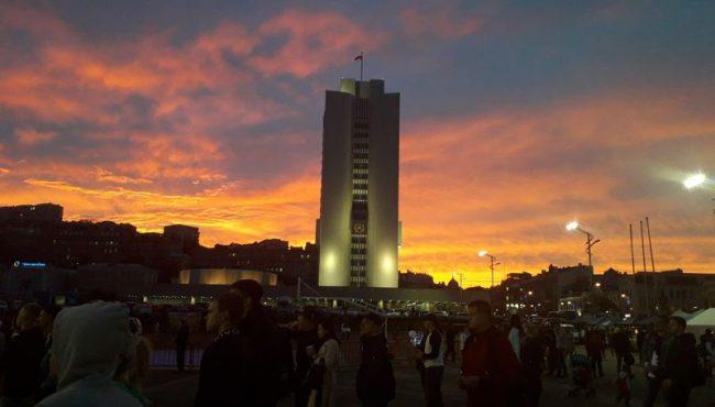 Закат, АПК, Центральная площадь