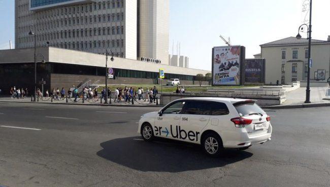 Uber, такси, АПК, улица Светланская, Владивосток
