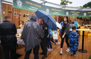 «Дальневосточная деревня» на «Улице Дальнего Востока» принимает гостей несмотря на непогоду