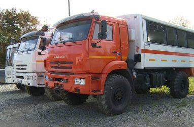 Сахалинские лесопожарные службы получили новую технику