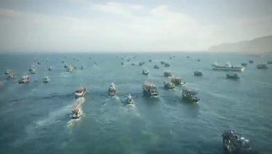 Впечатляющее видео: сотни северокорейских шхун покидают бухту Ольга в Приморье