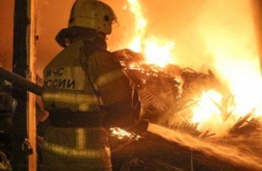 Женщина погибла в страшном пожаре во Владивостоке