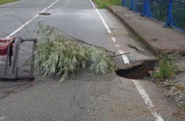 «Фронтовики» Приморья обратились в прокуратуру по поводу аварийного моста