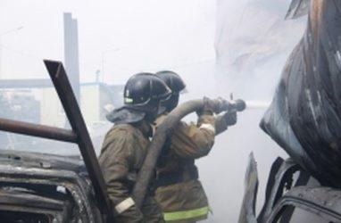 Серьёзный пожар во Владивостоке: из здания эвакуировали 50 человек