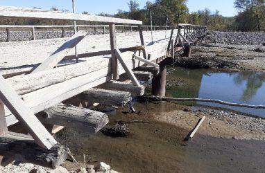 Ещё один мост может рухнуть в Приморье — жители