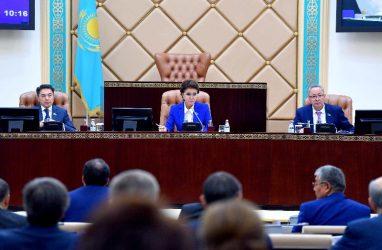 Дарига Назарбаева встретилась с главами парламентов пяти стран