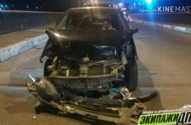 Массовое ДТП произошло ночью во Владивостоке