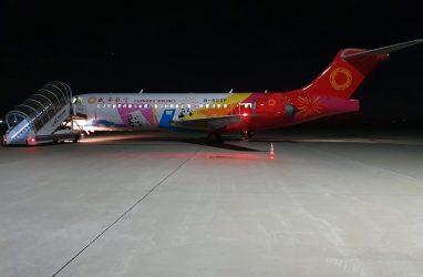 Аэропорт Владивосток первым в мире принял новый китайский самолёт