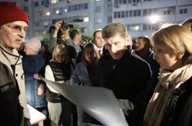 После жалоб жителей Владивостока губернатор призвал застройщика изменить проект ЖК «Эко-квартал»