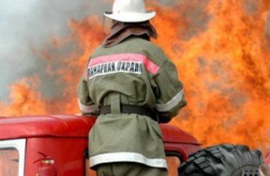Во Владивостоке произошёл пожар в торговом центре