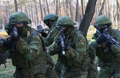 Более 1500 мотострелков атаковали в Приморье объекты условного противника